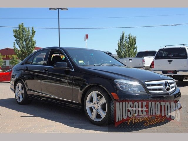 2011 mercedes benz c300 luxury 4matic 4 door sedan