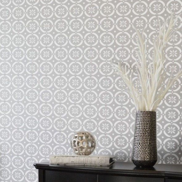 FLOWER POWER Moroccan Wall Furniture Craft Floor Stencil - FP001 by DizzyDuckDesignsUK on Etsy https://www.etsy.com/listing/384416516/flower-power-moroccan-wall-furniture