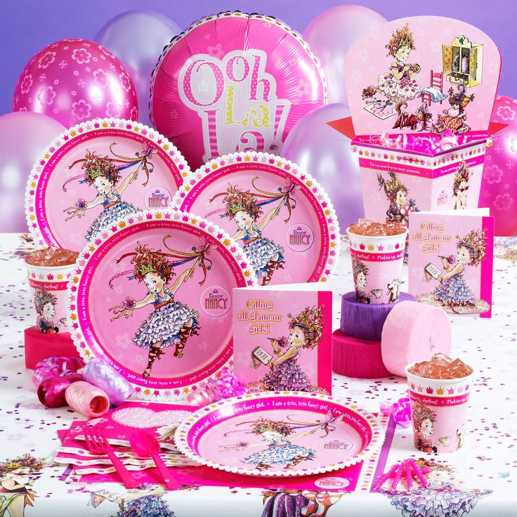 Fancy Nancy Birthday Party Supplies ...  LOVE!