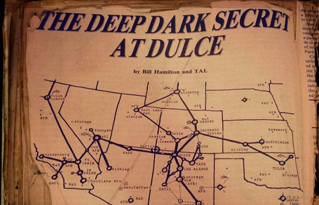 Flashback: Allegations of Government Human and Biotech Experiments at a Deep Underground Military Base near Dulce
