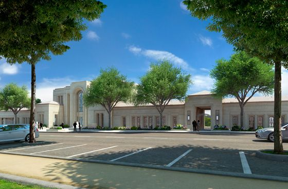 L'Église de Jésus-Christ des Saints des Derniers Jours souhaite construire un temple sur le terrain situé au 46, Boulevard Saint-Antoine au Chesnay dans les Yvelines. Le site comprendra plusieurs bâtiments et de magnifiques jardins qui seront ouverts au public.