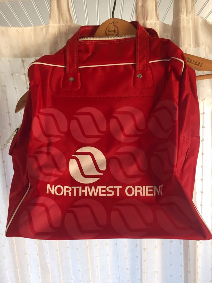 A personal favorite from my Etsy shop https://www.etsy.com/listing/456707866/vintage-northwest-orient-airline-bag