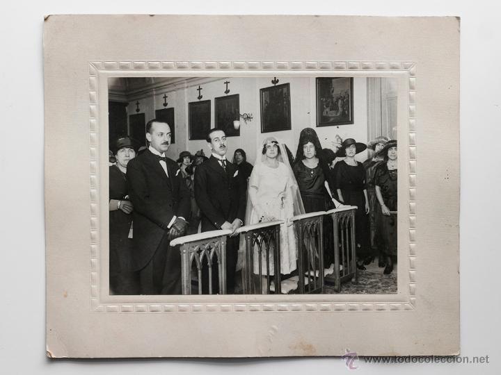 Foto de boda años 20s- Informaciones fotográficas VIDAL, Madrid.  El Desván de Bartleby C/.Niebla 37. Sevilla