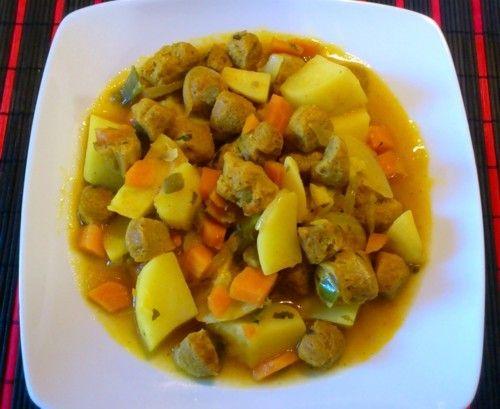 Carne de soja al curry | Vegetariana...¿y tú qué comes?
