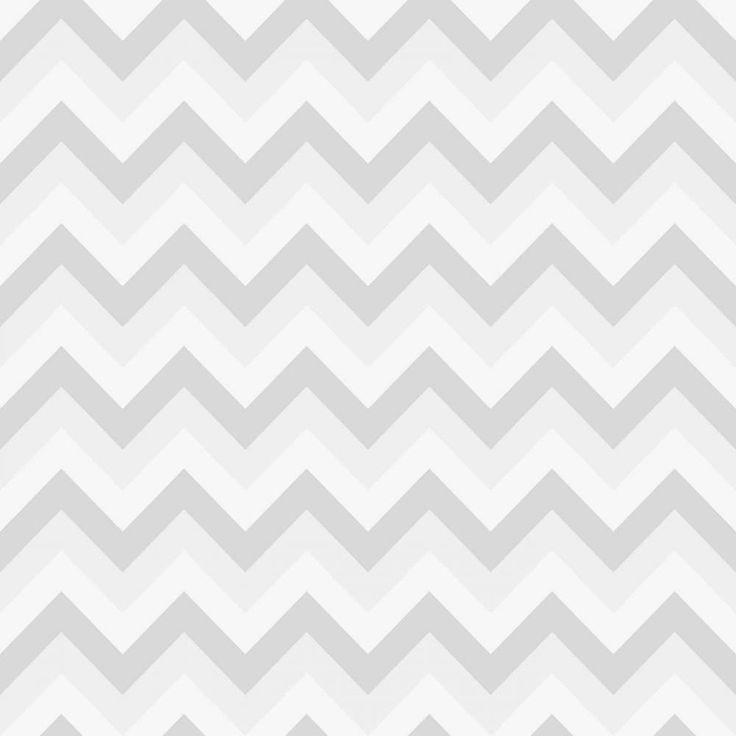 Papel de parede Chevron Candy Cinza - PA8125