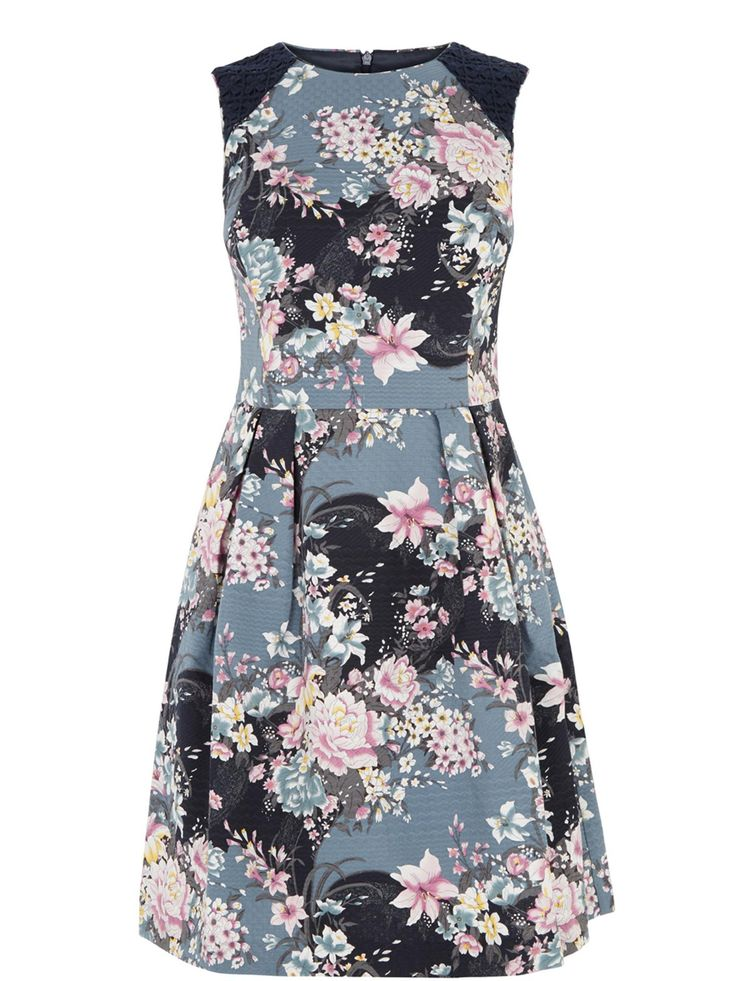 Buy your Oasis Lotus Print Skater Dress online now at House of Fraser. Why not Buy and Collect in-store?
