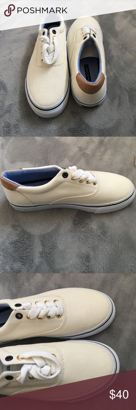 Tommy Hilfiger Maritza Tennis Shoes Brand new brand name tennis shoes that have not been wore and were just a size too small for me! Tommy Hilfiger Shoes Sneakers
