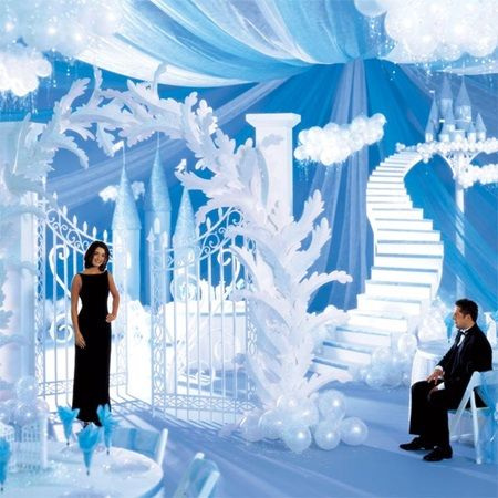 Castle In the Sky Complete Prom Theme-Heavenly! So many great ideas for prom 2016