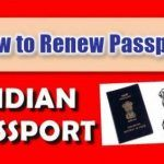 Indian passport renewal form