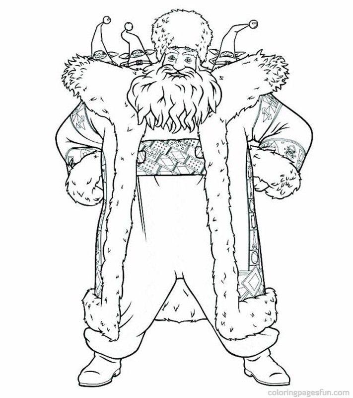 Rise of the Guardians - Santa Claus | Coloring Pages | Pinterest