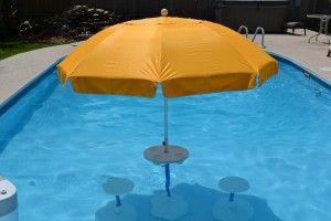 25 Best Ideas About Pool Umbrellas On Pinterest Pool Shade Diy Umbrella Base And Deck Umbrella