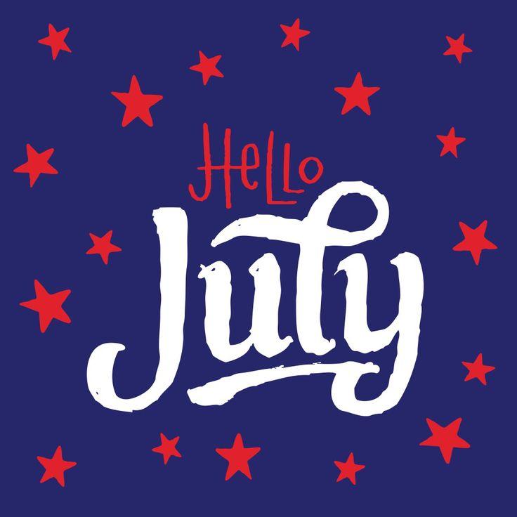 Hello, July! #july #summer