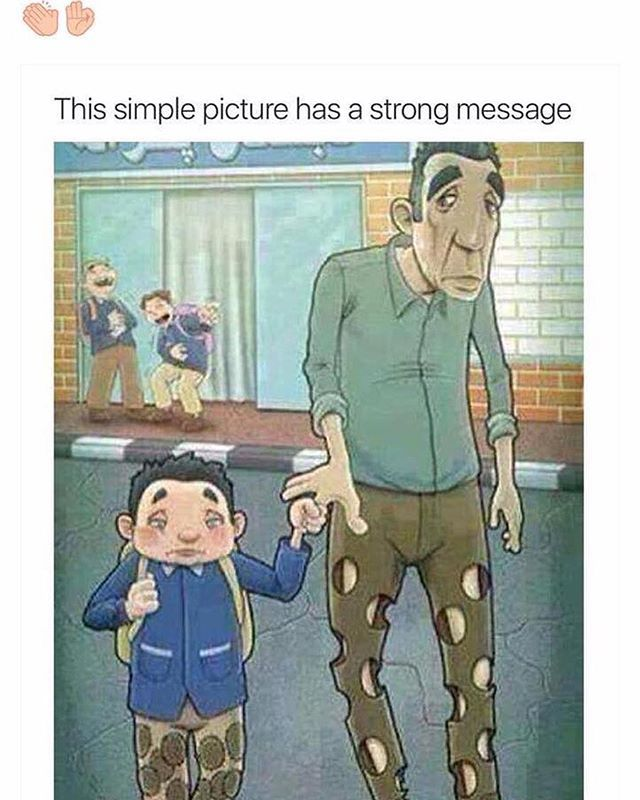 Always be grateful for what your parents do for you ❤️