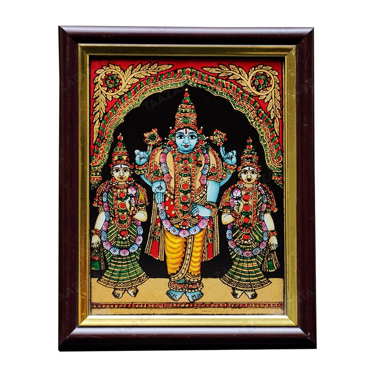Material: Glass Other Material: Glass colors, Gold powder Dimensions( LxW): 6x8 Inches Package Contents: 1 Maha Vishnu Painting  *Free Shipping  Production Capacity: 1000 pcs/ month Time Required to Dispatch: 10 Days Product Return Period: Product returns are accepted only if the products are found to be damaged. Product Return Period: 7 days from the day of delivery