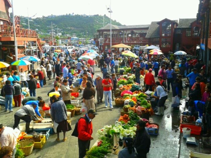 Palafitos de Angelmo, Puerto Montt, Chile.