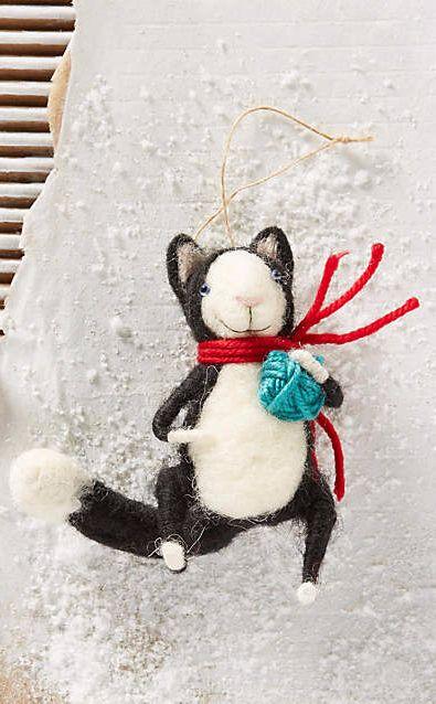Happy Cat Ornament #anthrofave
