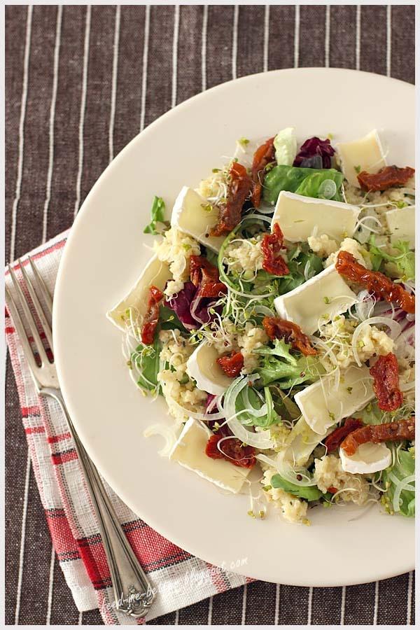 Salada no almoço, salada no jantar!