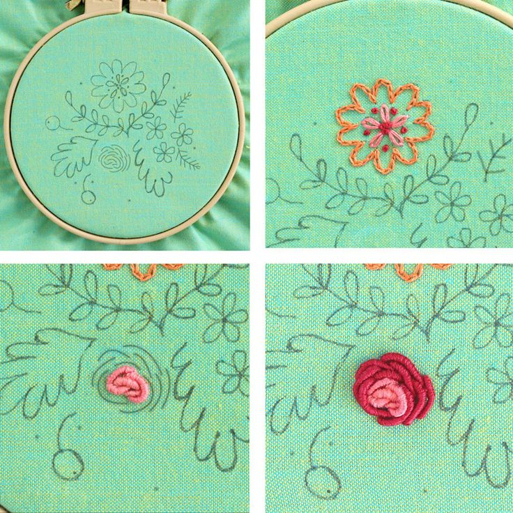 79 best embroidery cross stitch images on pinterest for Hand thread painting tutorial
