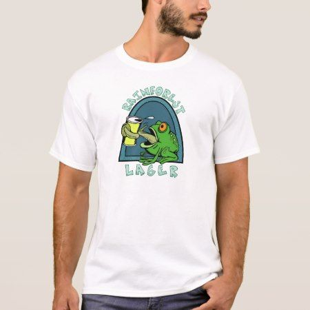 Rainforest lager T-Shirt - click/tap to personalize and buy