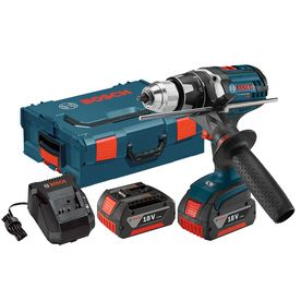 Bosch 18-Volt Lithium Ion (Li-Ion) 1/2-In Cordless Drill Battery And H