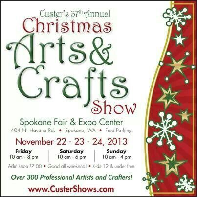 Custer arts and crafts fair and expo in spokane, washington