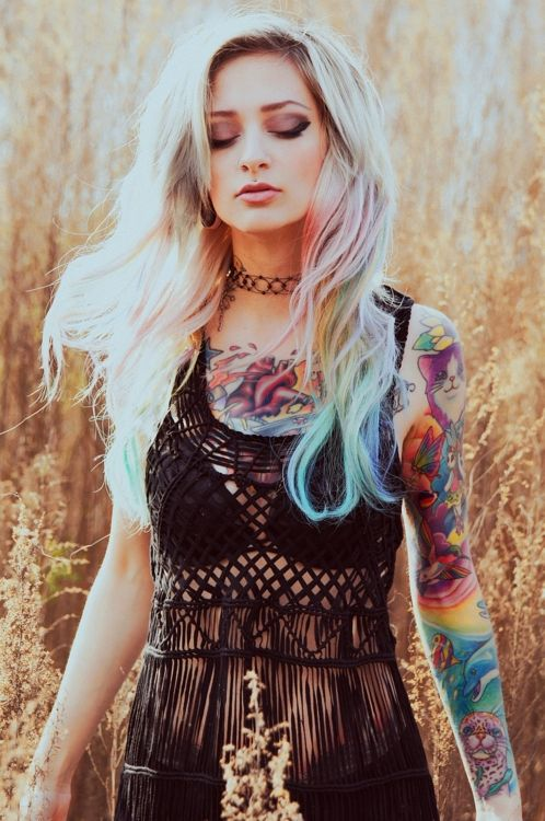 tumblr hippy girl tattoo | Tattoos at work – Does it impact on your employment opportunities?