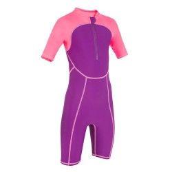 Muta nuoto bambina rosa viola