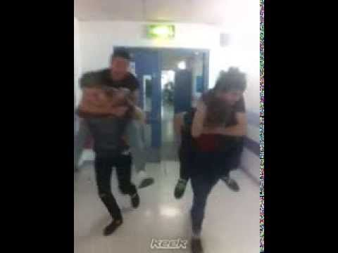 5SOS Keek #23 - The ultimate piggy back race off all time #5sosultimater...