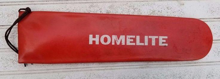"Homelite Super XL Auto 17"" Rubber Chainsaw Bar Cover Sleeve #Homelite"