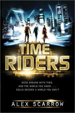 """""""Maddy, Liam, and Sal were saved from certain death to become agents for TimeRiders, a group created to stop time travel from destroying the world. When a new threat appears-with evil tracing back to World War II- the TimeRiders go back in time to Nazi Germany and then forward into an ever-shifting present, to fulfill their destinies as keepers of time.""""  Male and Female Protagonists, Action/Adventure, Series -- RATING: 4(epb)"""
