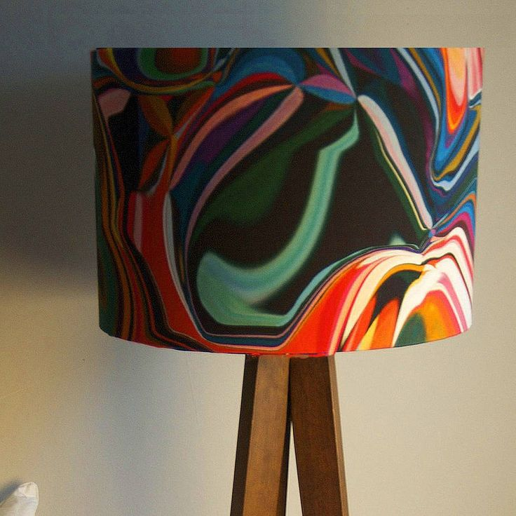 The 25 best retro lamp shades ideas on pinterest tropical lamp retro lamp shades from the 60s aloadofball Gallery