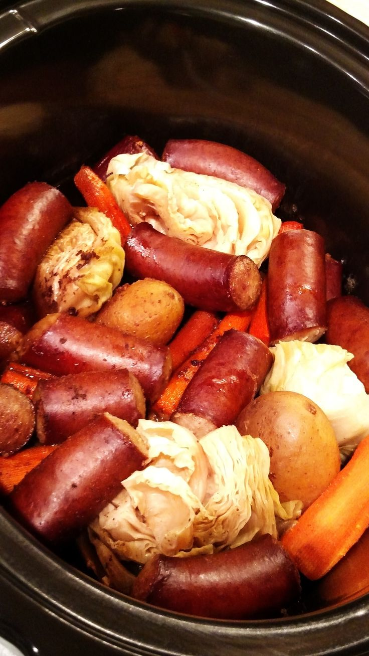 This delicious recipe only takes 5 minutes and 5 ingredients. Dinner's all in one pot with this smoked sausage dinner recipe...