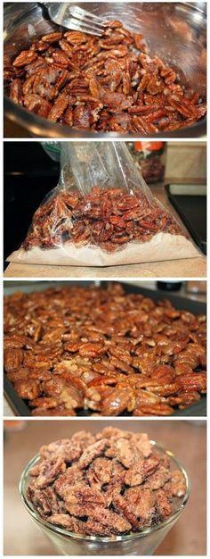 all-food-drink: Cinnamon Sugar Pecans Recipe