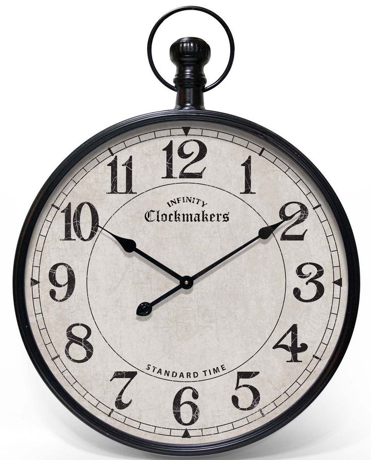 infinity instruments grand central pocket watch wall clock clocks wallclock walldecor homedecor