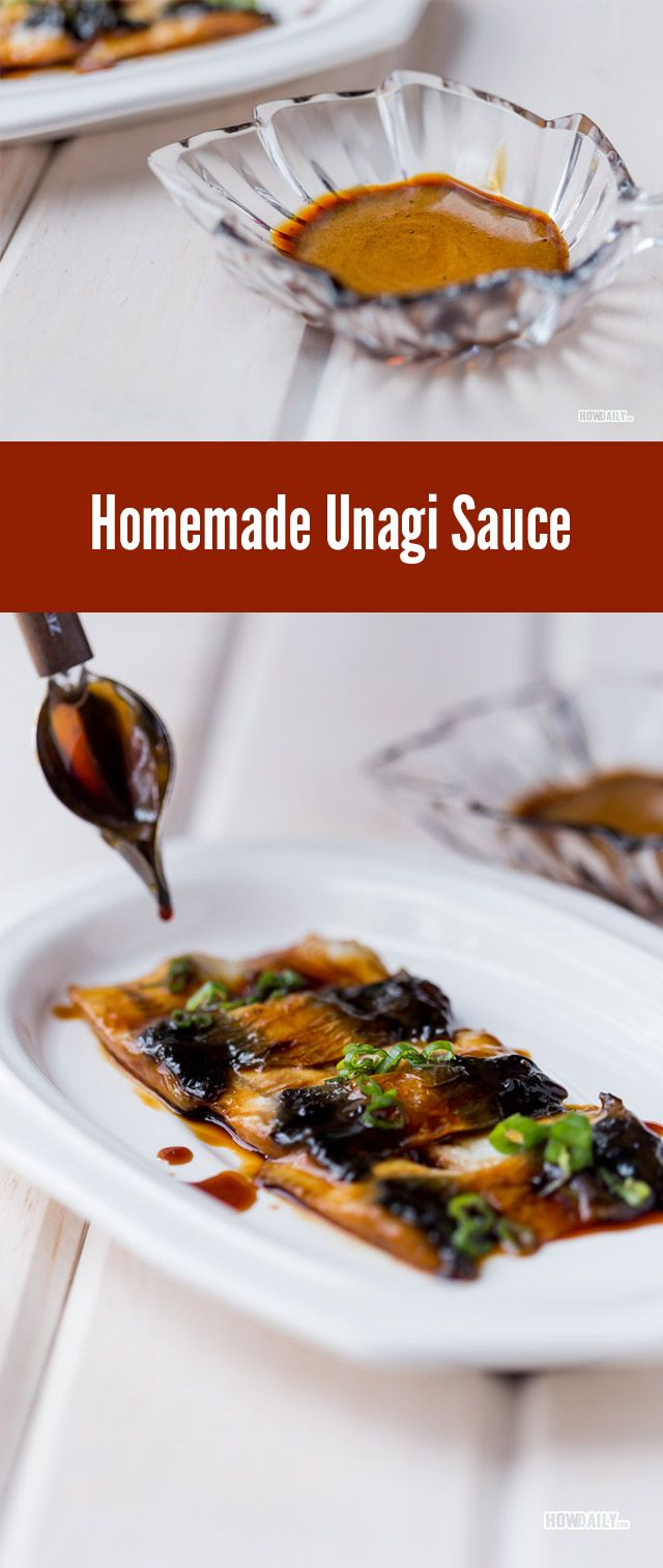 Recipe for making Unagi Sauce at home