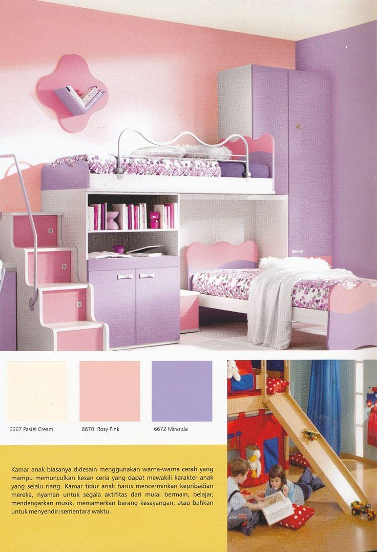 Related to tips interior minimalis bernuansa kafe interior minimalis - Sanlex Wonder Wall Paint Offers Plenty Of Sweet Colors For Your Girl Bedroom Interior Design