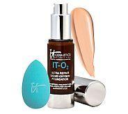 It Cosmetics IT-O2 Oxygen Liquid Foundation with Hydra-Sponge - A231709