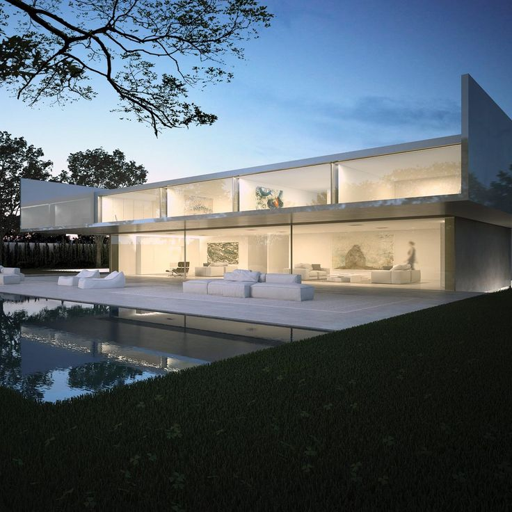 The aluminum house by fran silvestre arquitectos in madrid for Architettura moderna case
