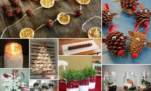 Φτιάξτε μόνες σας 15 εντυπωσιακά χριστουγεννιάτικα στολίδια  #DIY