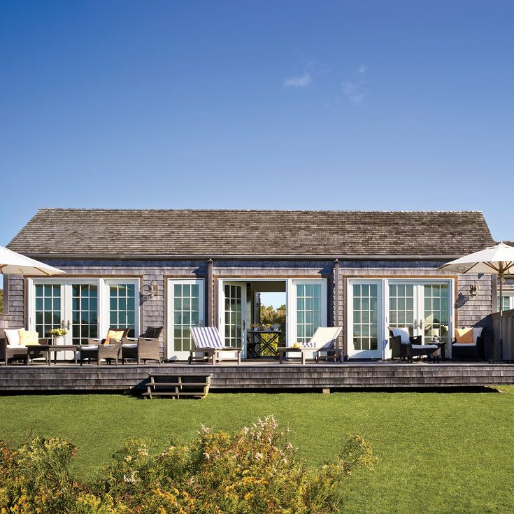 Open Up Outdoor Spaces - Nantucket Cottage Makeover - Coastal Living