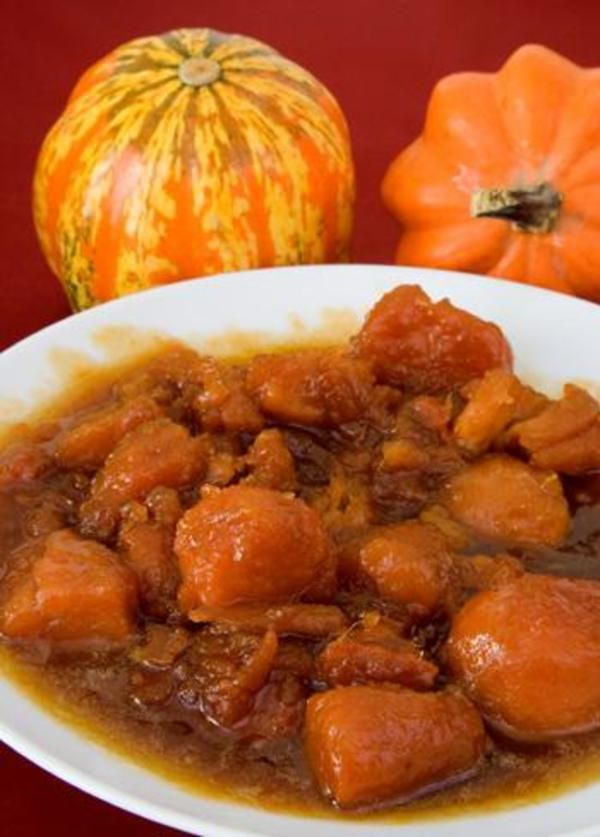 Candied yams are a Thanksgiving Day classic. This traditional recipe for candied yams features only four ingredients.