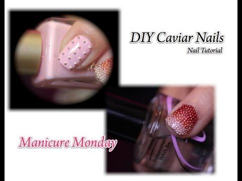 DIY Caviar Nails Ombre  ~Do It For On The Cheap~  Manicure Monday!!