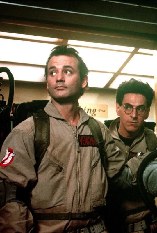 Охотники за привидениями. Билл Мюррей и Дэн Эйкройд. США. 1984г.