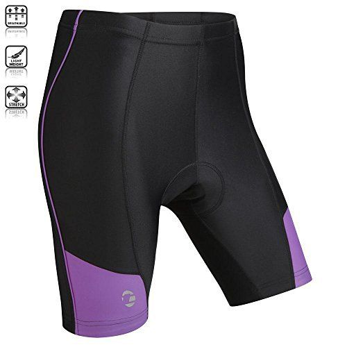 Tenn Ladies Coolflo 8 Panel Padded Cycling Shorts - Black/Radiant Orchid - 20-22 - http://ridingjerseys.com/tenn-ladies-coolflo-8-panel-padded-cycling-shorts-blackradiant-orchid-20-22/