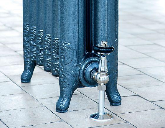 Arroll radiator valves chrome
