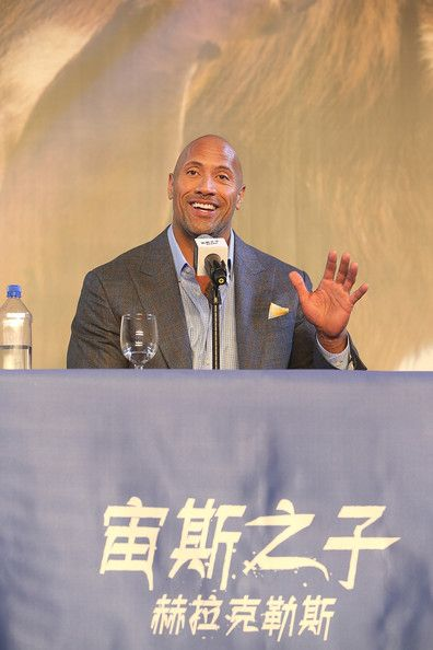 Dwayne Johnson Photos - Cast Of Hercules Visit The Great Wall Of China - Zimbio