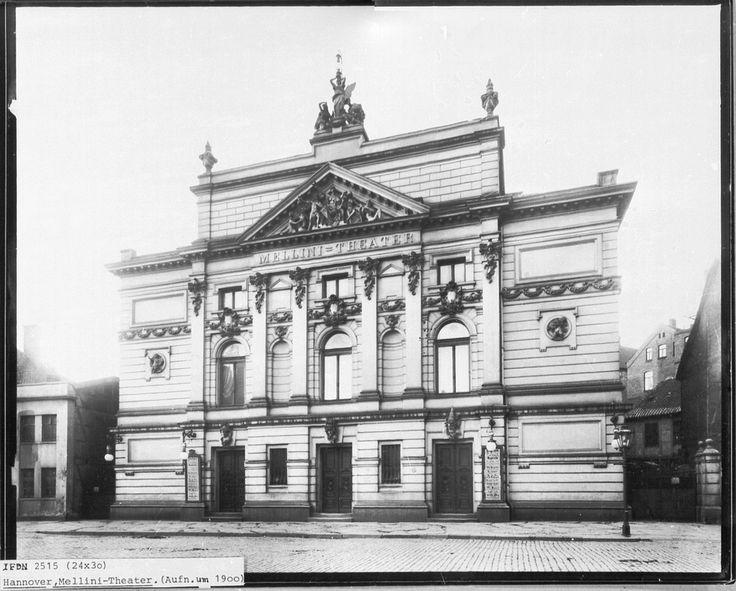 HANNOVER Mitte Mellini-Theater in der Kurt-Schumacher-Straße hanover germany