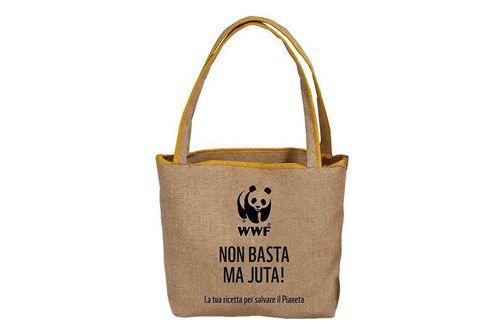 """WWF - Bag """"Non basta ma JUTA"""" @WWFItalia"""