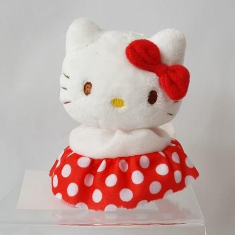Hello Kitty Bean Bag Mascot Plush  Dot  dbbb19dae3c8d