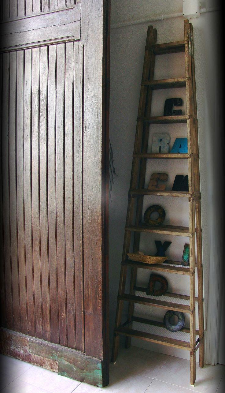Escalera o estanter a nuestra 39 escalter a 39 con una for Estanteria de escalera